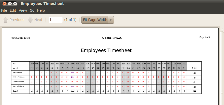 Attendances and Timesheet Management – Sample Payroll Timesheet Calculator